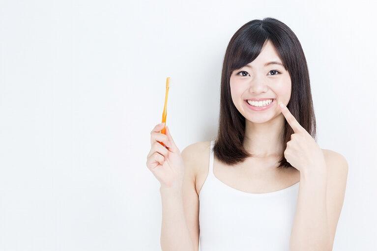 毎日きちんと歯を磨く